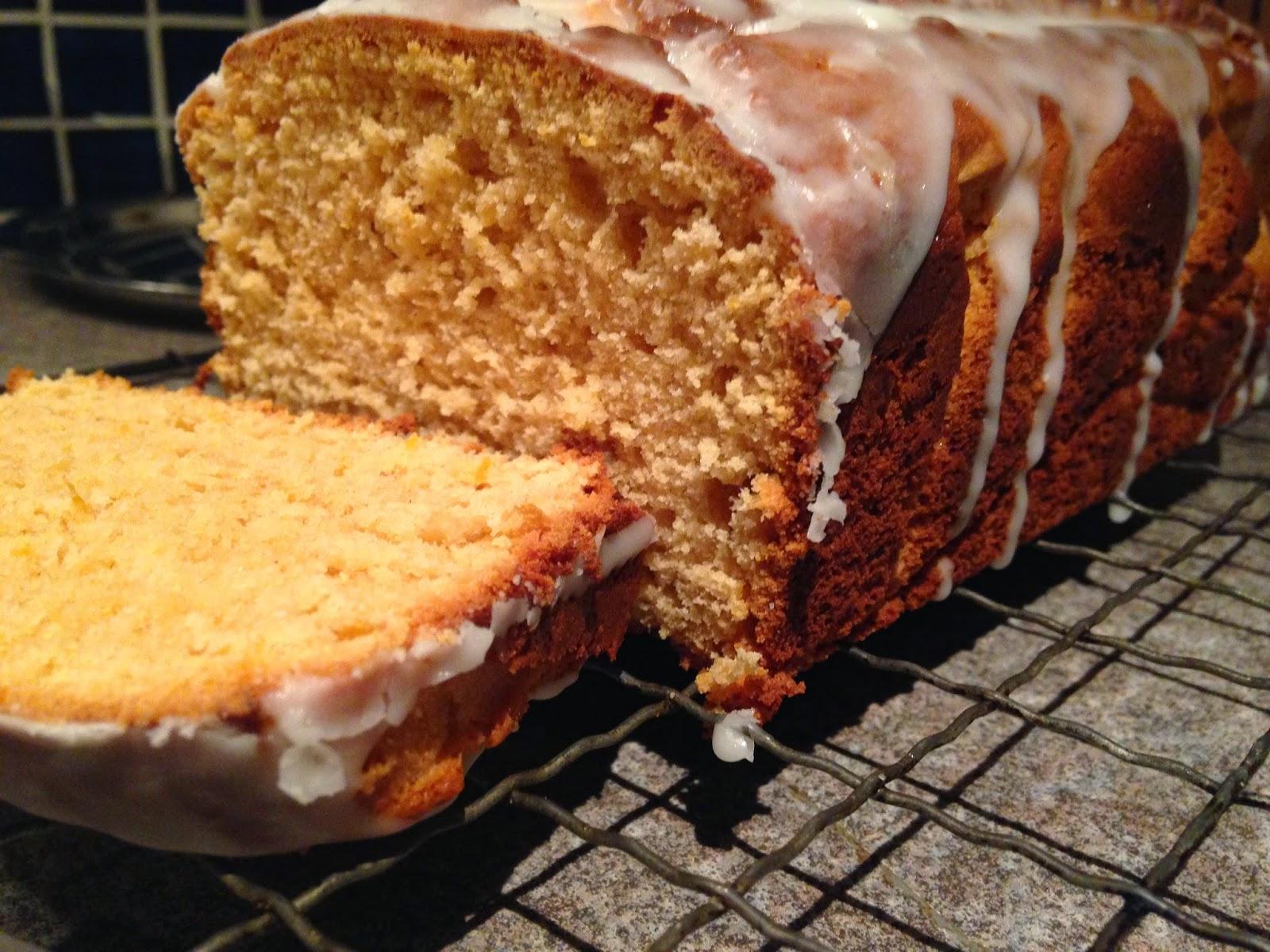 Lemon caramel cake