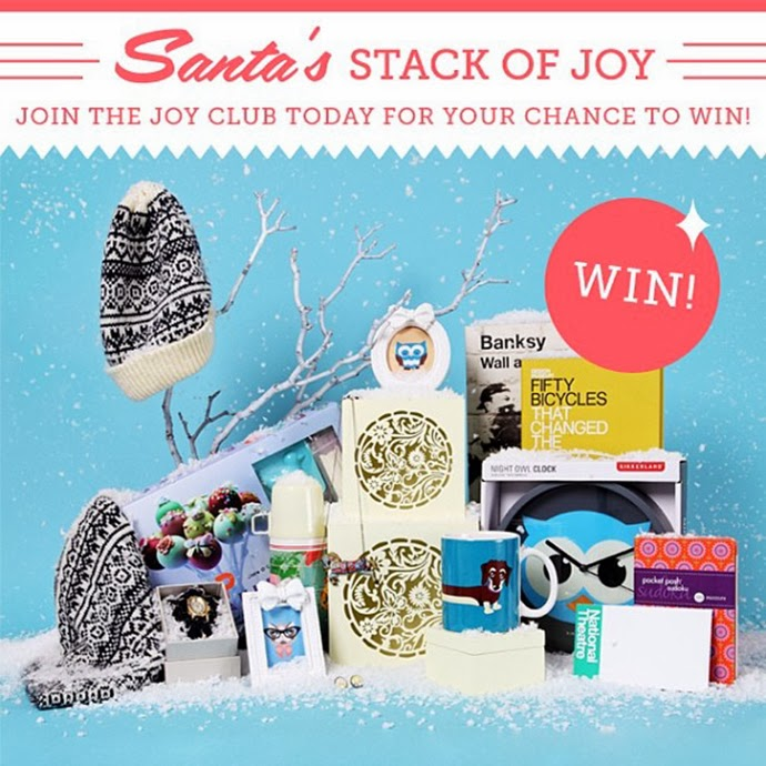 Win a Winter Bundle called Santa's stack of joy by JOY
