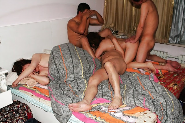 China Swingers Swapping Wives At Group Sex Party | SexScandals.Us