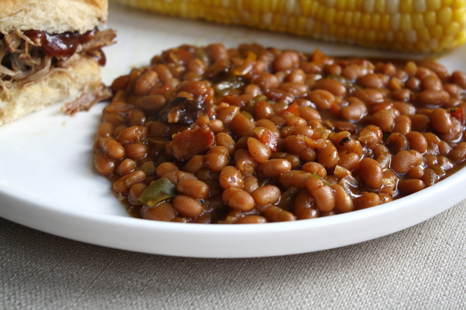 what's for dinner?: baked beans... 2 hours and 30 minutes