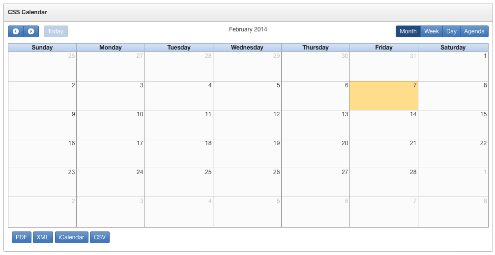Weekly Calendar Css : Dimitri gielis oracle application express apex