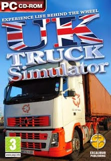 Game UK Truck Simulator + Crack + Patch Full Version Bus Mod Indonesia V.1.32