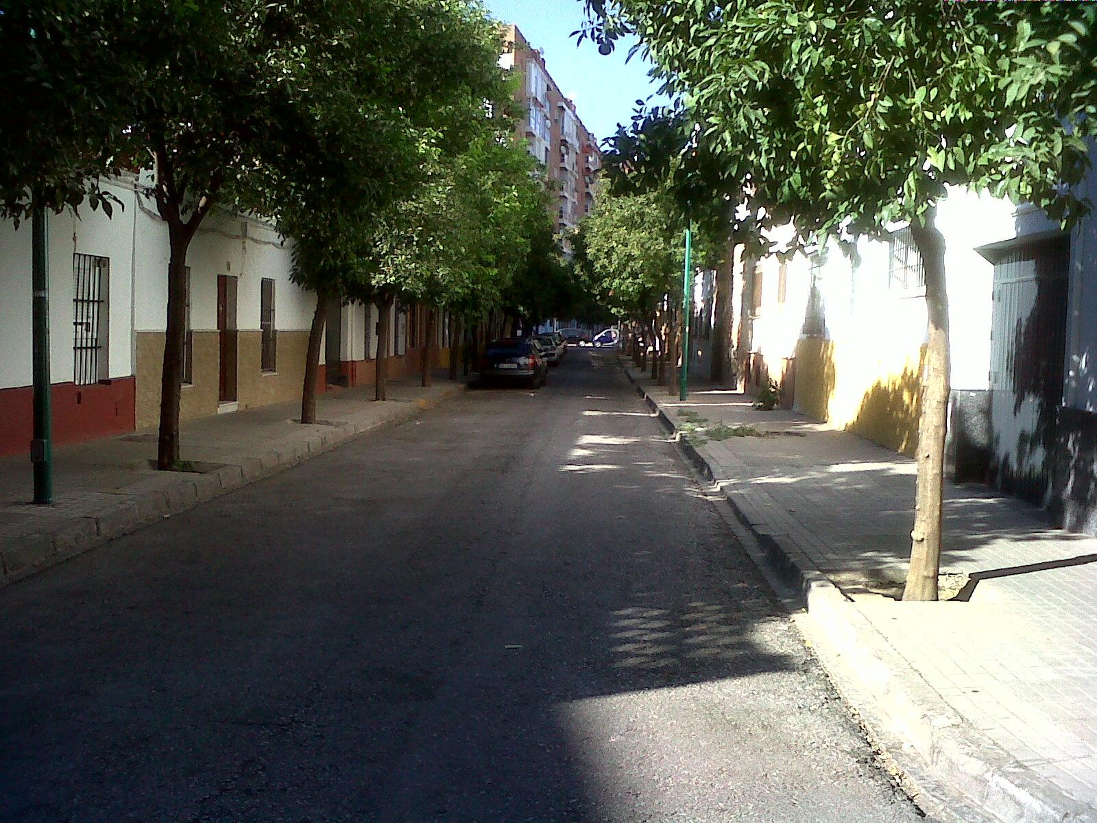 El porvenir de sevilla la calle california - Calle correduria sevilla ...