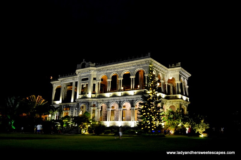 The Ruins in Talisay at night