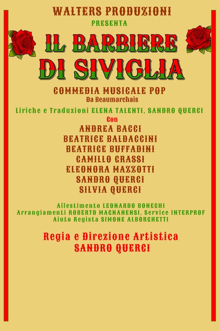 Il Barbiere di Siviglia Commedia Pop al Sam Babila di Milano