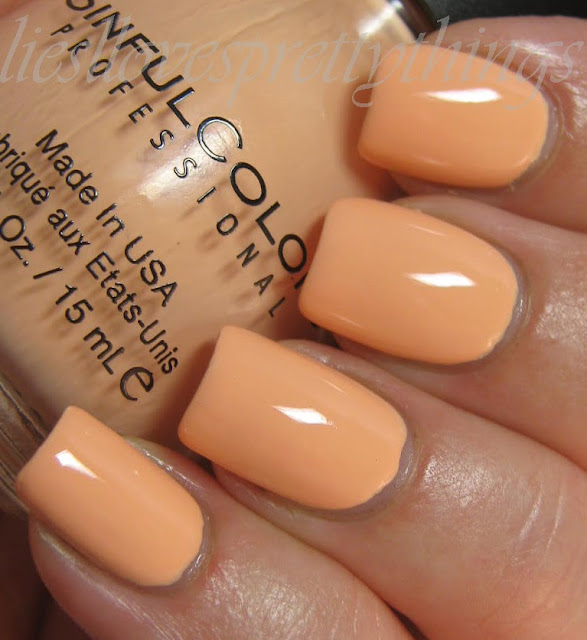 Sinful Colors Skylark swatch and review