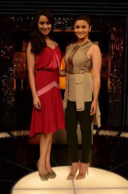Alia Bhatt & Shradha Kapoor on The Front Row With Anupama Chopra