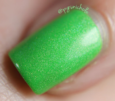 Pretty & Polished Appletini by Bedlam Beauty