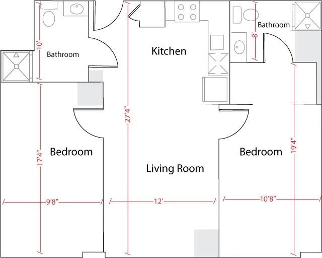 International House Gwu Floor Plan House Design Plans