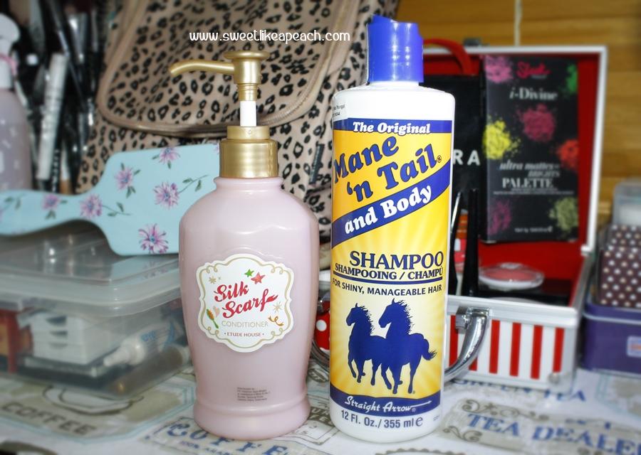 kondisioner mane n tail shampoo