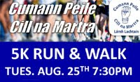 5k nr Macroom in West Cork...Tues 25th Aug 2015