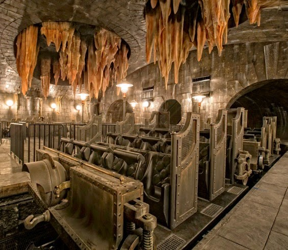 Escape from Gringotts ride