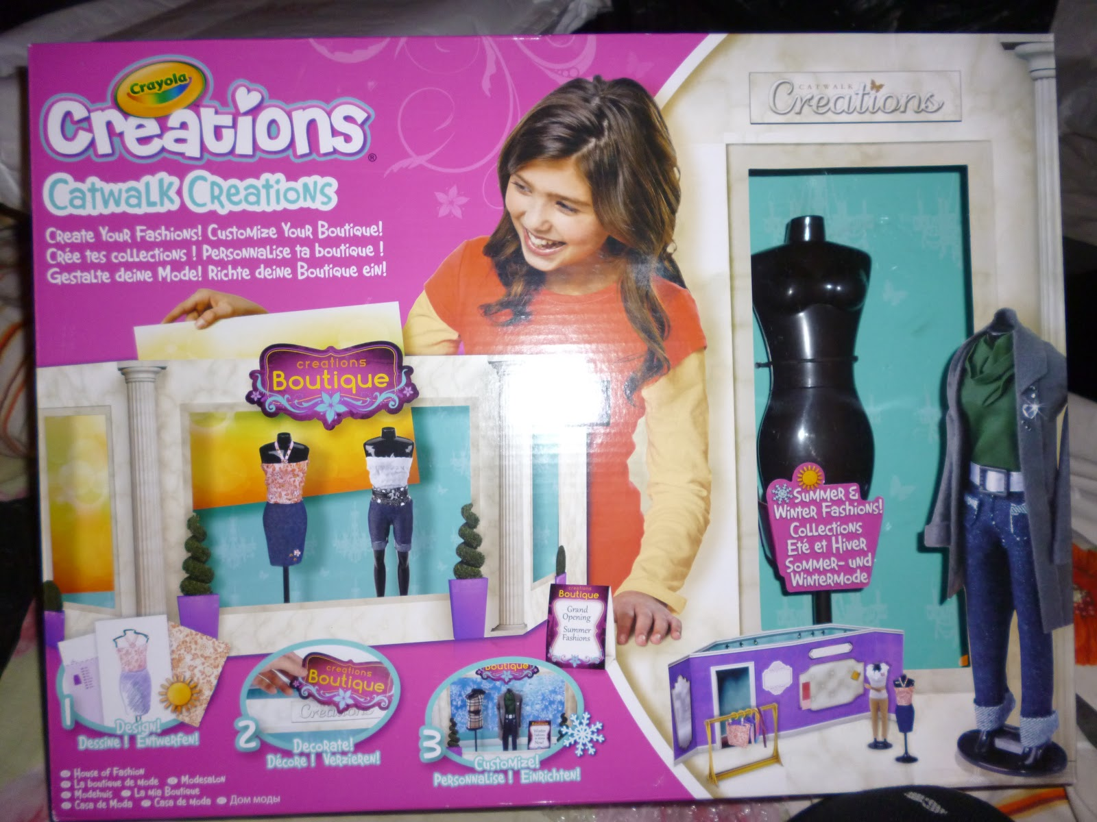 Madhouse family reviews crayola catwalk creations house Crayola fashion design studio reviews