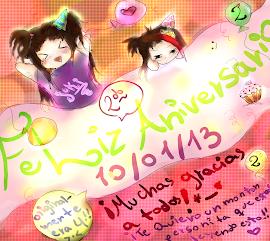 ¡Aniversario del blog!! 10/01