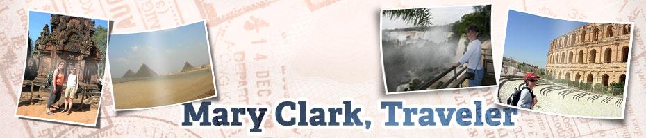 Mary Clark, Traveler