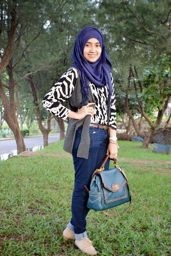 Gaya Jilbab Simple dan Nyaman   Tips Jilbab Cantik