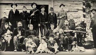 Real Hatfield clan (circa 1897)