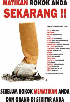 jangan merokok