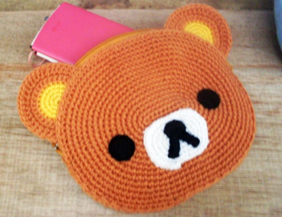 Amigurumi Pattern Rilakkuma : Crochet: Rilakkuma pouch and announcement ^^ HIMEGURUMI