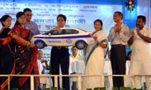 CM Mamata Banerjee distributes No Refusal Meter Taxi permits