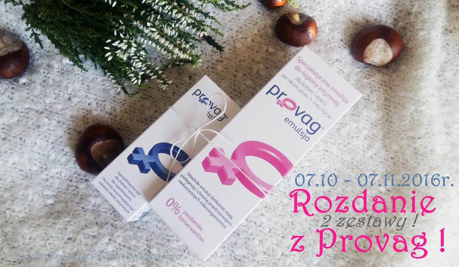 Rozdanie z marką Provag