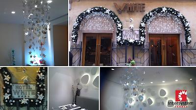 Intersystem arredamento negozi natale 2012 for Arredamento vetrine