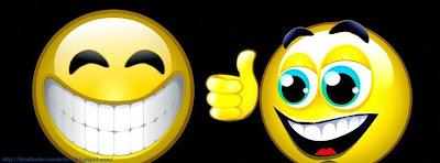 Une omage de couverture facebook sourire