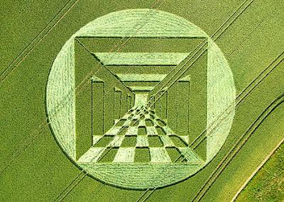 Crop Circle - 10 Keajaiban Alam Yang Misterius