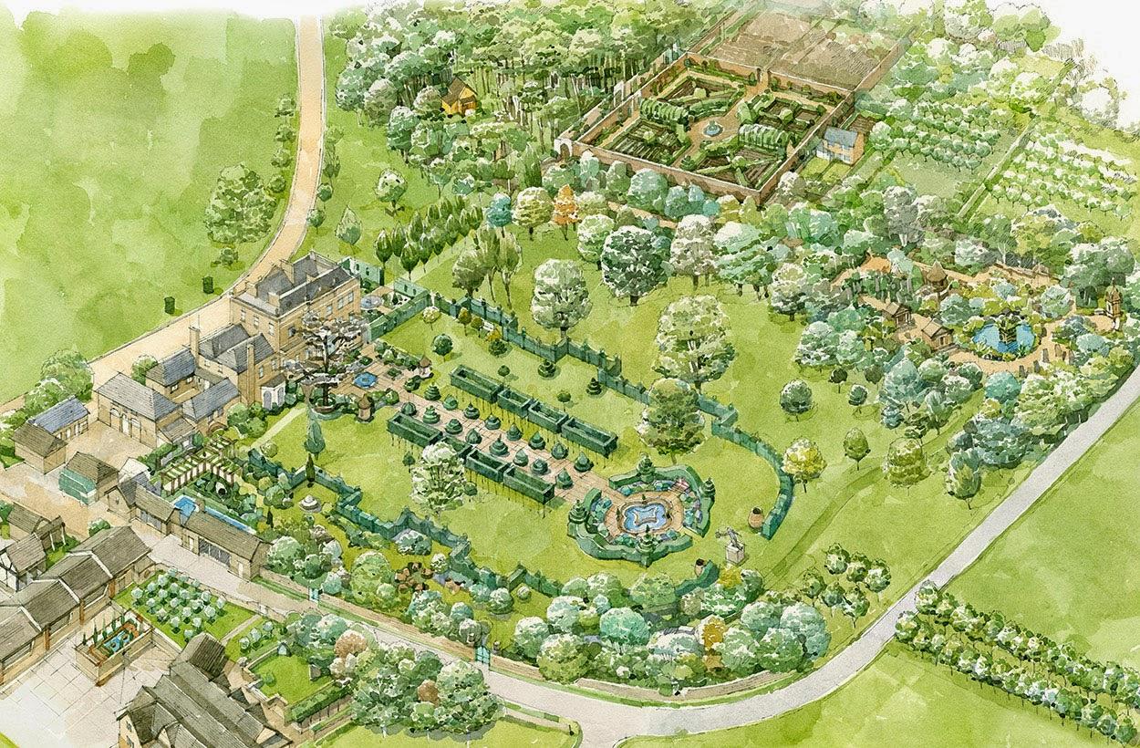 Как сажать деревья в родовом поместье 56