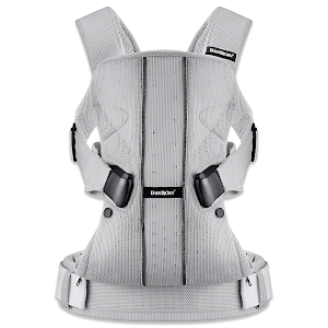 BABYBJÖRN Baby Carrier One (MSRP for $219.95) Silver Mesh Carrier!