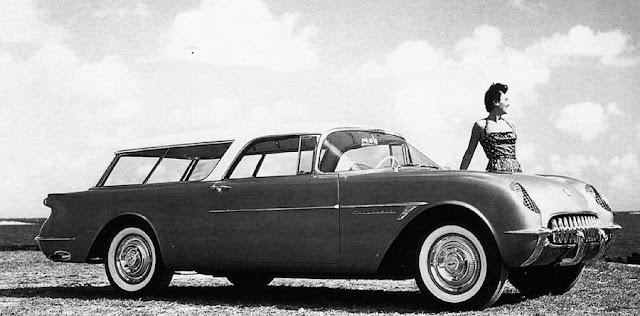 corvette nomad, 1954 chevrolet corvette nomad wagon, chevrolet, chevy, corvette, nomad, concept car