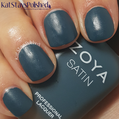 Zoya NYFW Satin Trio 2015 - Dagmara | Kat Stays Polished