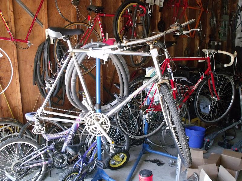 Hugh`s bicycle blog: Raleigh Teton Mountain Tour restoration.