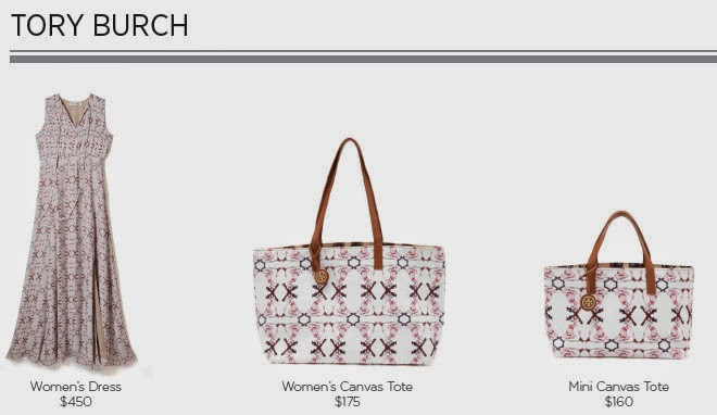 Tory Burch For Born Free Collection
