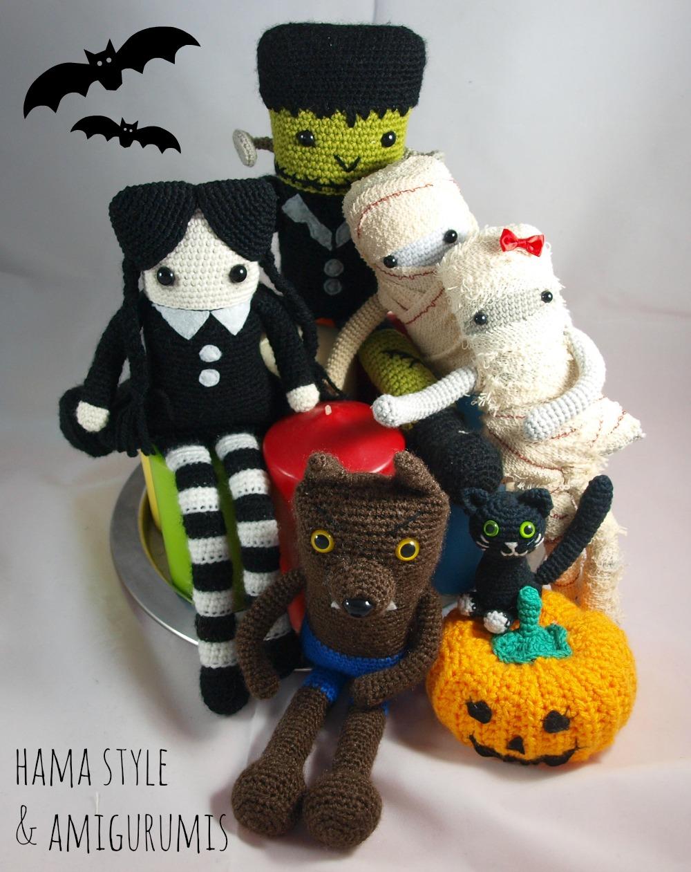 Marta Ruso Crochet Creativo: Hombre - Lobo Amigurumi [PATRÓN GRATIS]