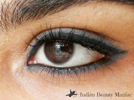 Lakme eyeconic Kajal in Grey EOTD