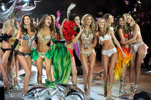 Victoria's Secret catwalk show finale