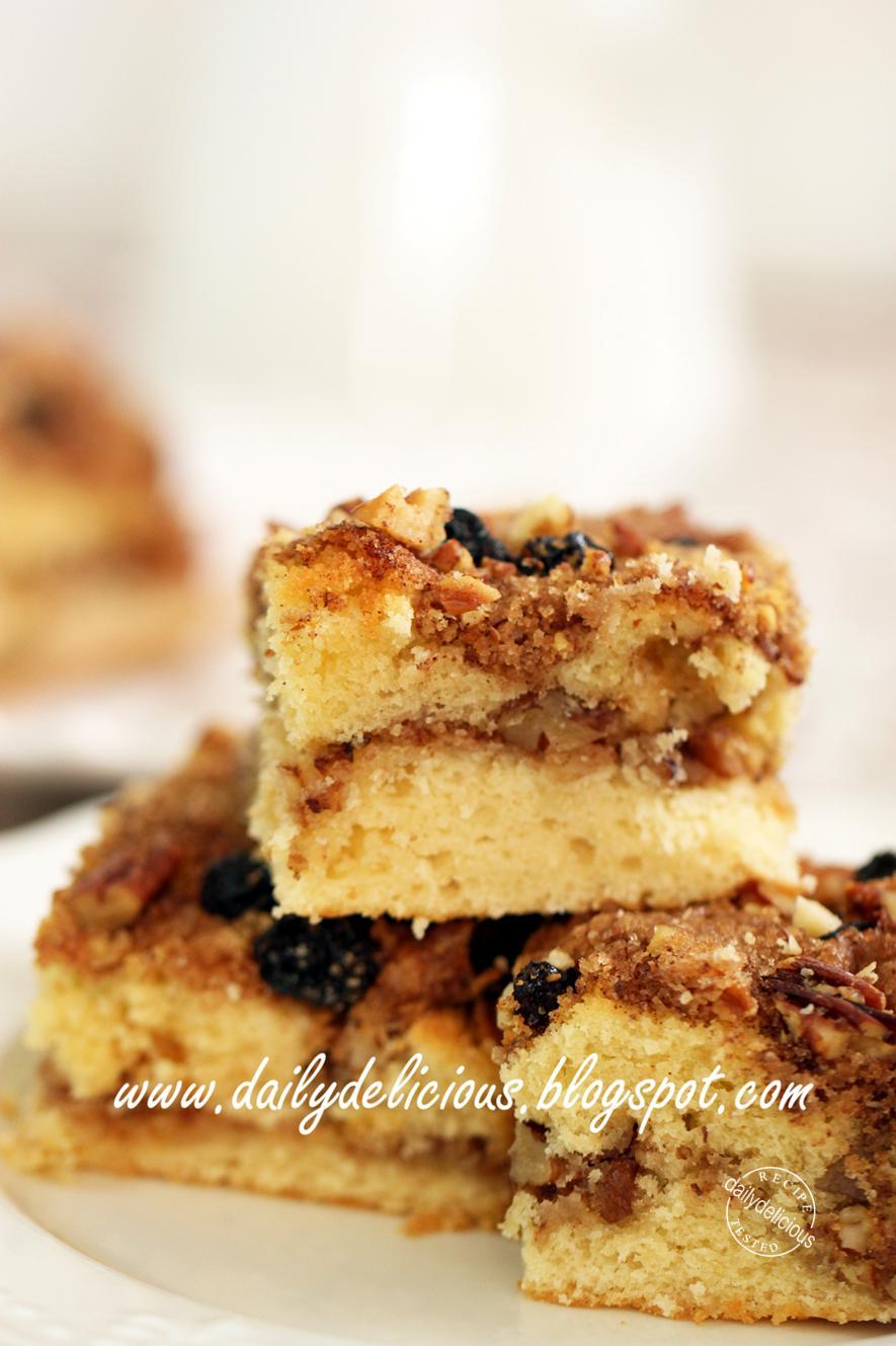 Make Cinnamon Coffee Cake From Scratch