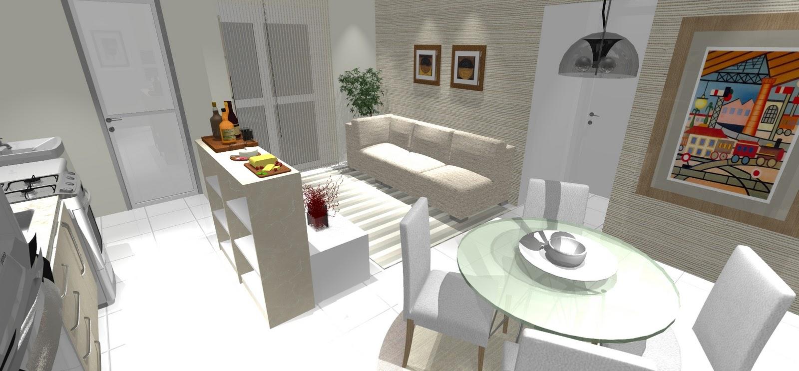 Cozinhas E Salas Conjugadas Mveis Para Dividir Salas E Cozinhas  -> Quarto Sala E Cozinha Conjugadas