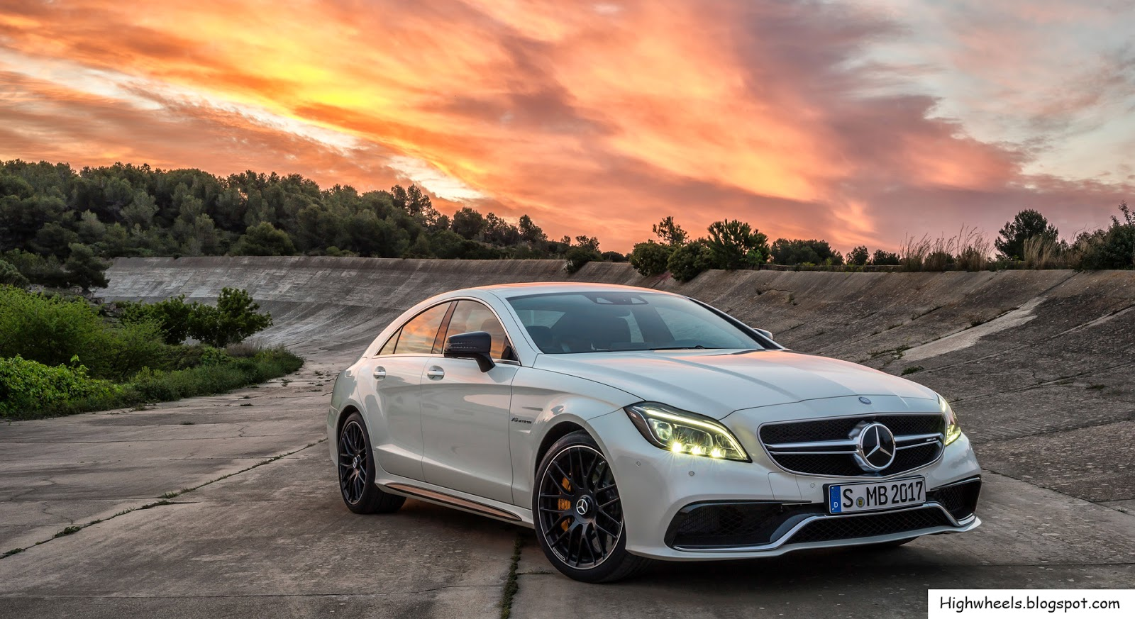 All Types cls mercedes 2015 : High Wheels: 2015 Mercedes-Benz CLS 63 AMG