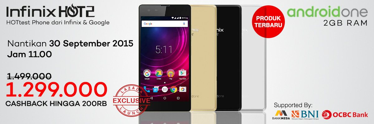 Foto Infinix Hot 2 Android One