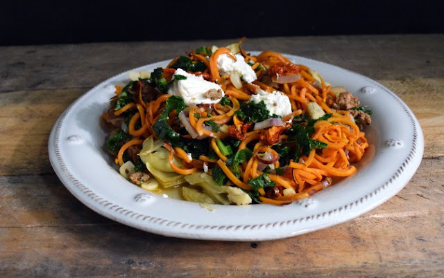 N.C is the largest producer of sweet potatoes. Enjoy eight farm-fresh and healthy recipes using the root vegetable as a starring ingredient. Mad Sweet Potato Pasta from Nourish and Nestle