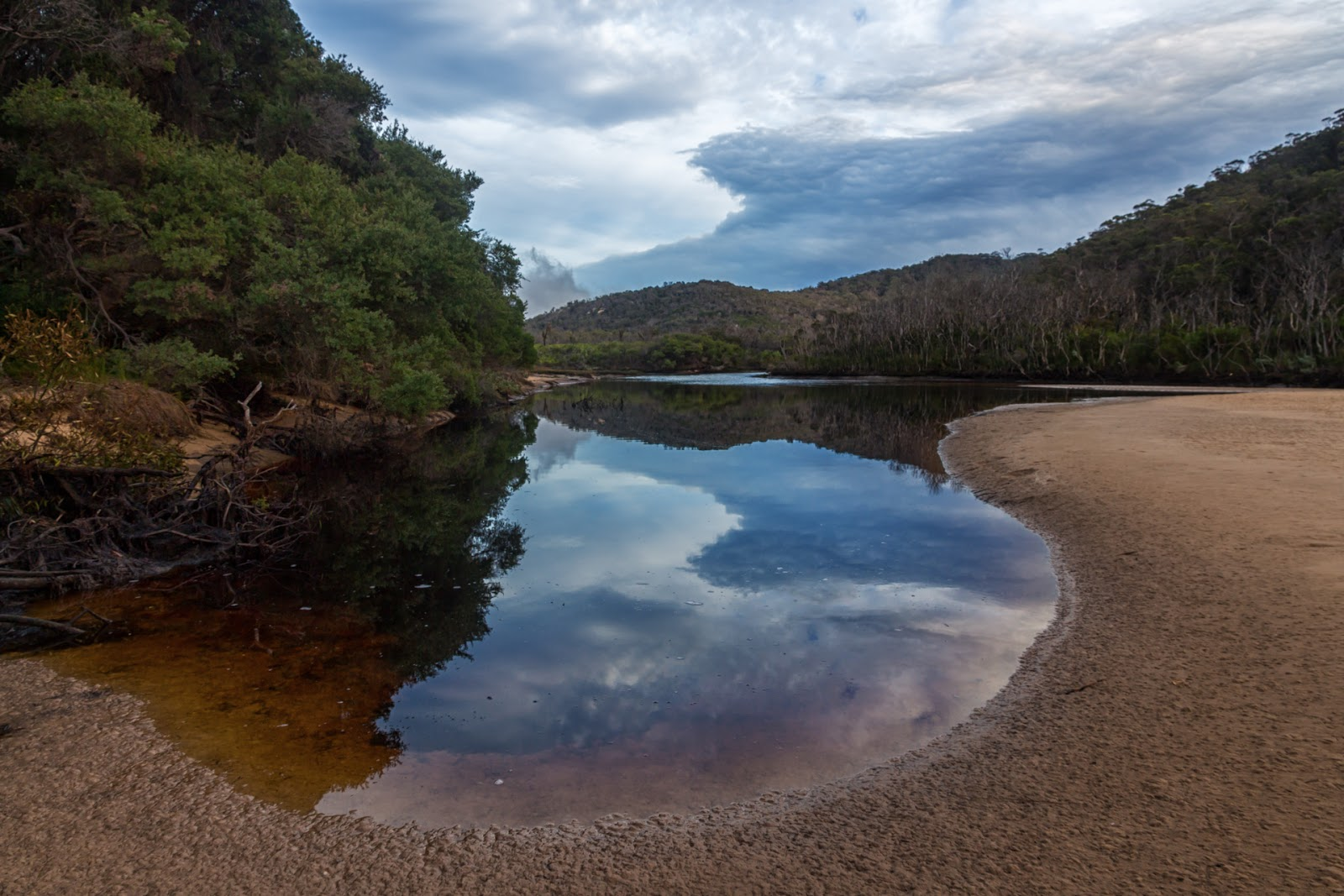 miranda creek near five mile beach wilsons promontory
