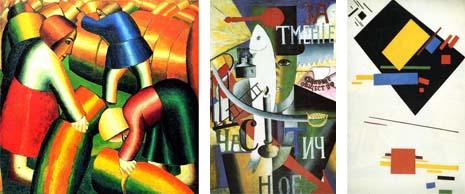 Art Talk - foredrag om kunst. Kazimir Malevich: Høst, 1911 - En englænder i Moskva, 1914 - Komposition, 1915