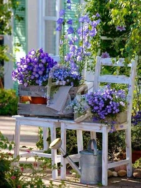 Decorar el jard n con macetas jard n y terrazas - Jardin con macetas ...
