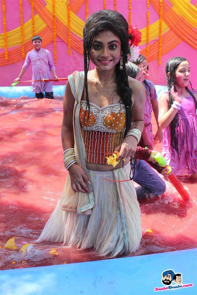 Colors Holi Celebration 2013