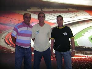 Equipe Futebol Emoção: PAULA NETO, EDMAR DE SOUZA E CHRISTIAN MASCARI