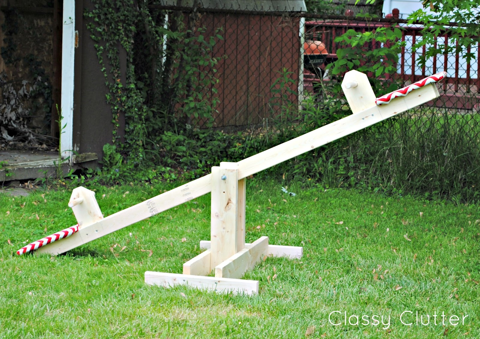 diy kids seesaw for under 30 classy clutter