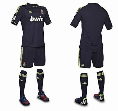 Seragam Baru Real Madrid Musim 2012-2013