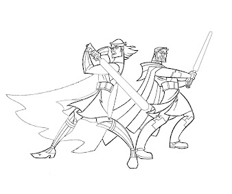 #2 Star Wars Coloring Page